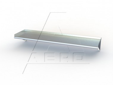Image of BW Series, Stainless Steel Wall Shelf | Kitchen Shelf | AERO Manufacturing