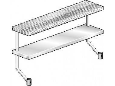 Image of APS Series, Stainless Steel NSF Listed Adjustable Plate Shelf for Stainless Steel Equipment Stand