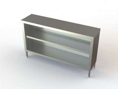 Image of DC Series, Stainless Steel Dish Cabinet