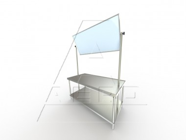 Image of DEMO Series, Stainless Steel NSF Listed Demonstration Table | Industrial Table