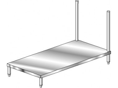 Image of DSU Series, Stainless Steel NSF Listed Undershelf for Dishtables
