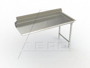 Image of CDR Series, Stainless Steel NSF Listed Clean Dishtable
