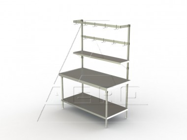 Image of FUR Series, Stainless Steel Racks, Utensil Rack - NSF
