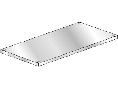 Image of GU Series, Galvanized NSF Listed Intermediate or Under Shelf for Worktable