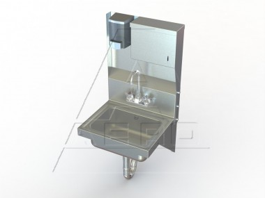 Image of HSDT Series, Wall Mount Utility Sinks | Industrial Sinks