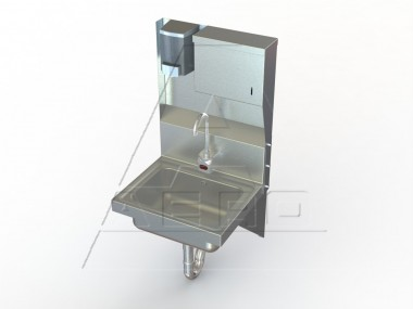 Image Of HSDTE Series, Stainless Hand Sink | Industrial Sink