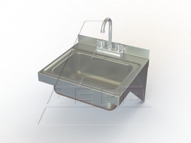 Wall Mounted Stainless Steel Sinks Nsf Listed Aero