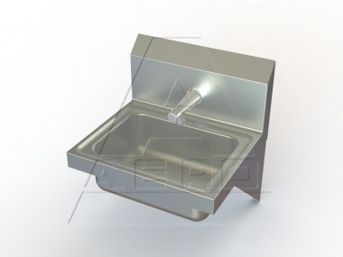 Stainless Steel Wall Mount Utility Sink : Wall Mount Utility Sink Stainless Steel NSF Listed AERO