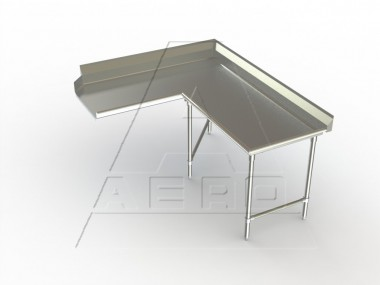 Image of CDCR Series, Stainless Steel NSF Listed Clean Dishtable