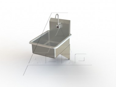 Stainless Steel Wall Mount Utility Sink : Wall Mount Utility Hand Sink Stainless Steel NSF Listed AERO