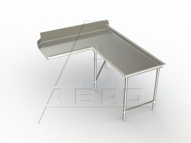 Image of CDIR Series, Stainless Steel NSF Listed Clean Dishtable