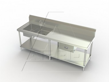 Image Of PT Series, Stainless Steel NSF Listed Prep Table