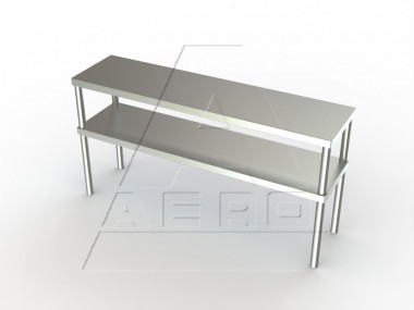 Image of DO Series, Stainless Steel Industrial Shelving, Double Overshelf
