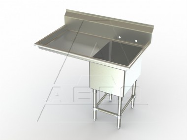 Image of F1L Series, Single Bowl Sink - Left Drainboard