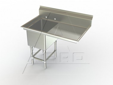 Image of F1R Series, Single Bowl Sink - Right Drainboard