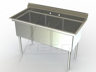 Image of F3 Series, 3 Compartment Sink