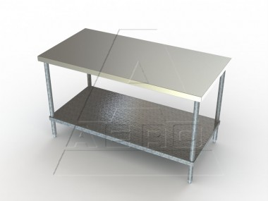 Image of TG Series, Stainless Steel NSF Listed Flat Top Worktable