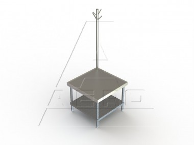 Image of MGRU Series, Stainless Steel NSF Listed Machine Stand