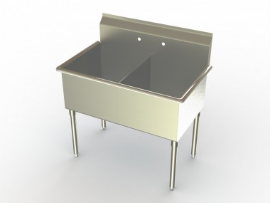 Image of S2 Series, 2 Compartment Sink