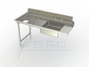 Image of SDL Series, Stainless Steel NSF Listed Soiled Dishtable Straight Design