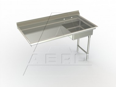 Image of USDR Series, Stainless Steel NSF Listed Undercounter Dishtable