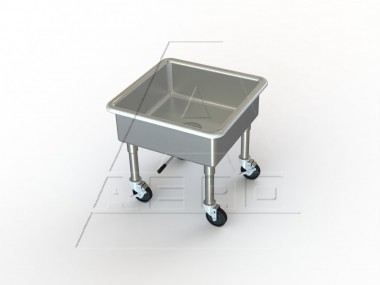 Mobile Sink Stainless Steel Mobile Utility Sink