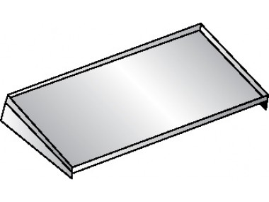 Image of SW Series, Stainless Steel Wall Shelf - NSF
