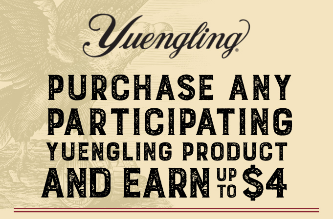 Yuengling 2020 Year Long Off Premise SSE