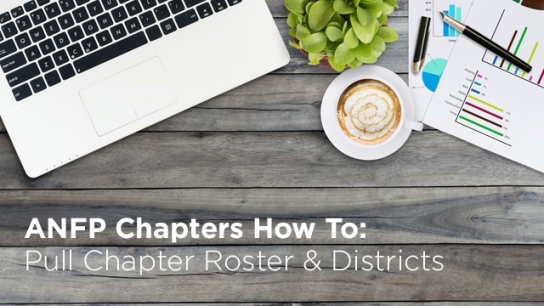 How to Pull Chapter Roster & Districts