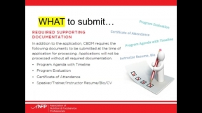 ANFP Chapter Chat: Understanding the Chapter CE Prior Approval Process Requirements & Application