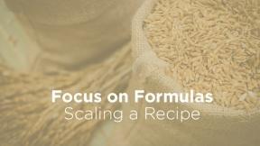 Scaling a Recipe