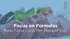 Raw Food Cost Per Patient Day