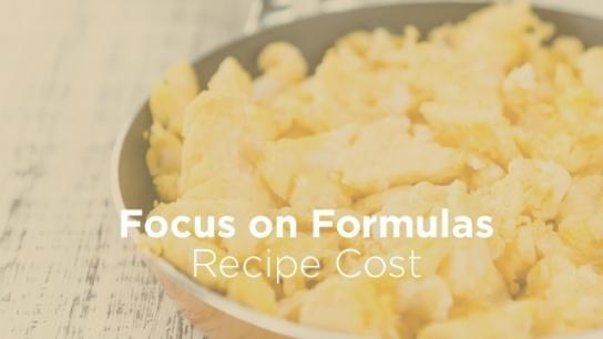 Recipe Cost