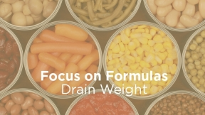 Drain Weight