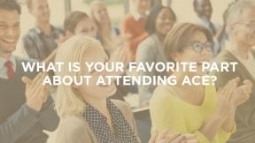 Why I Attend ACE: Kat Massey, CDM, CFPP, BA