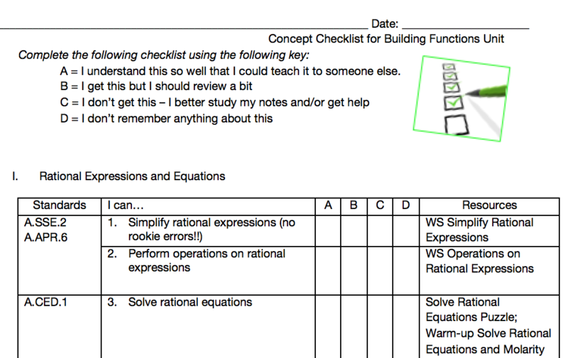 Eleventh grade Lesson Review Stations | BetterLesson