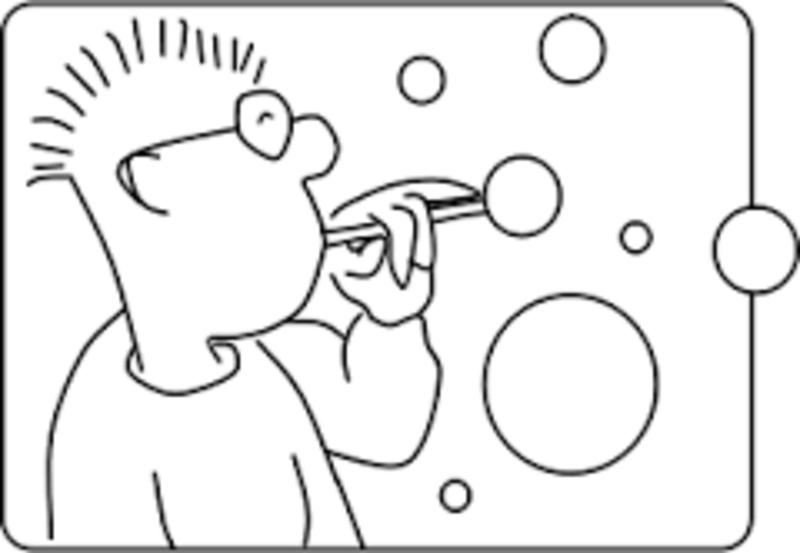 second grade lesson bubble blast