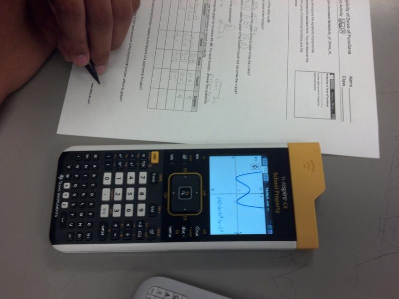 Twelfth Grade Lesson Got Zeros Polynomials Do