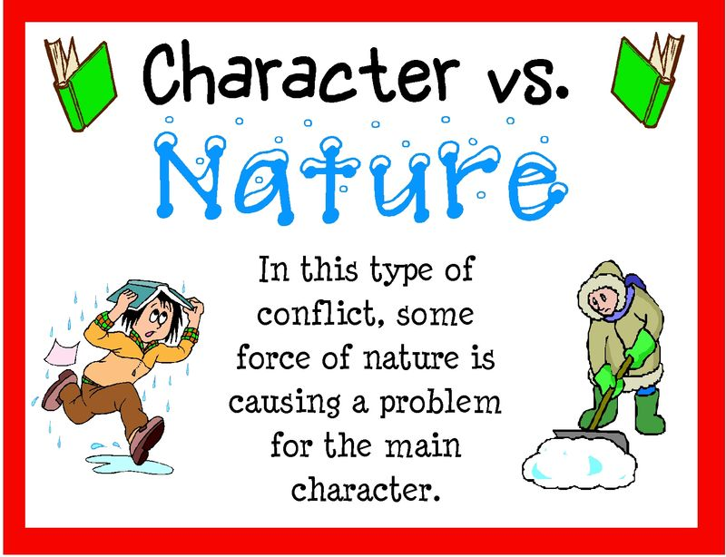 Second Grade Lesson Character Vs Nature Conflicts Betterlesson