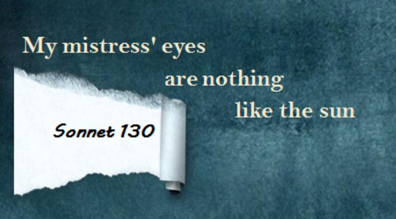 sonnet 130 metaphor