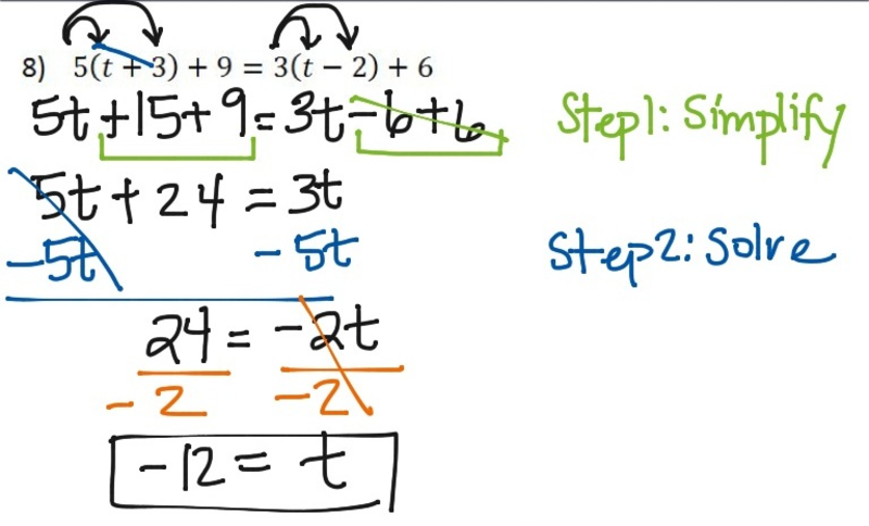 Seventh grade Lesson Multi-Step Equations   BetterLesson