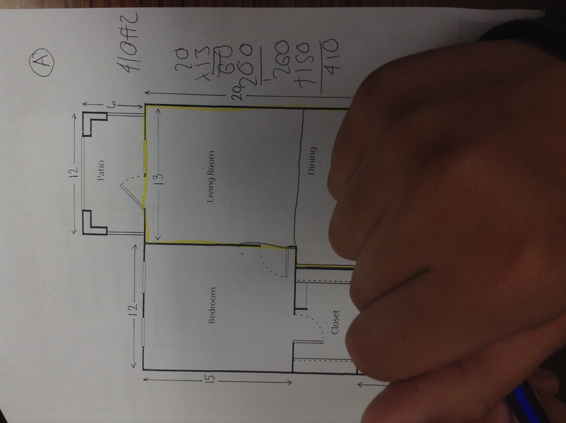 Seventh Grade Lesson Floor Plan Areas Day 1 Of 2 Betterlesson