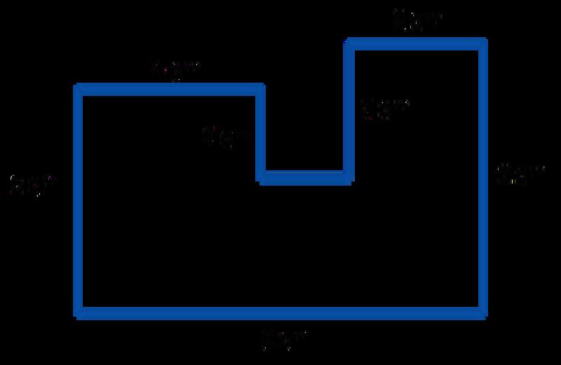 Sixth Grade Lesson Area Of Irregular Polygons Method 1