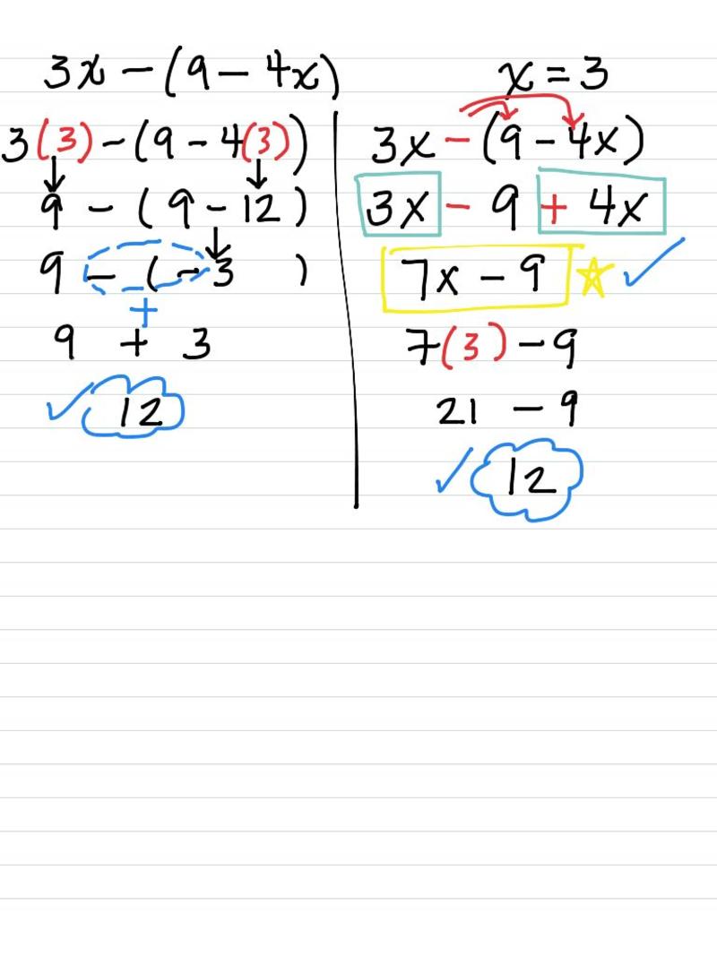 seventh grade lesson algebra  additional strategies for