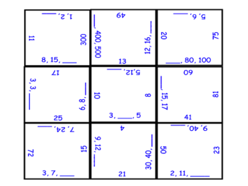 Tenth grade Lesson Special Right Triangles Puzzle Activity