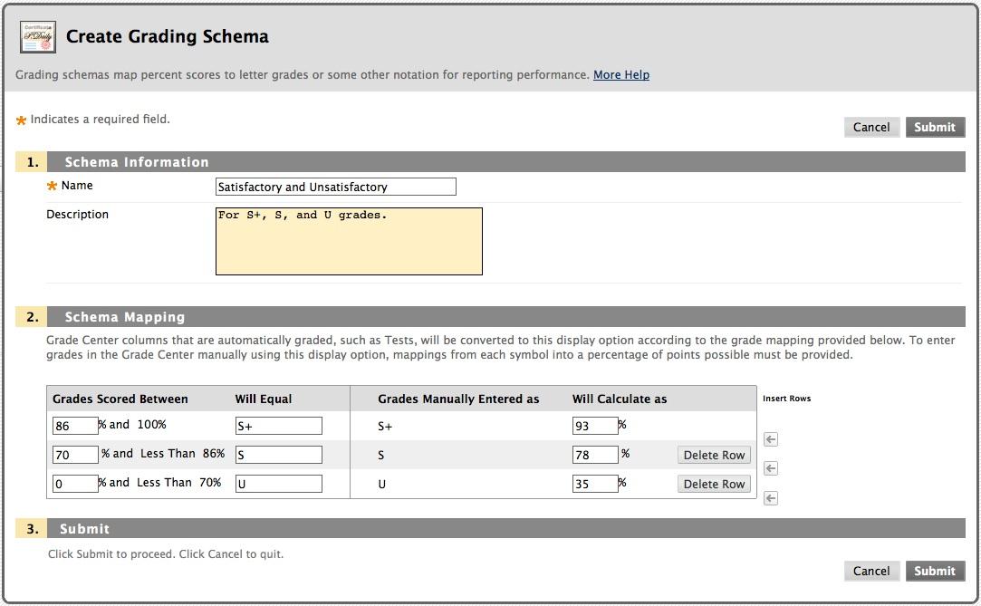 Grade Number To Letter.Grade Center Letter Grades Blackboard Help