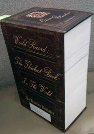 What is the thickest book in the world