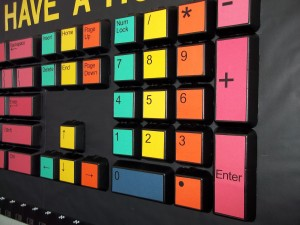 Giant Keyboard – Edna Batey Elementary Computer Lab