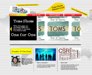 93dd57dded8 Individuals and Societies  Blog response on CSR project TOMS Shoes ...