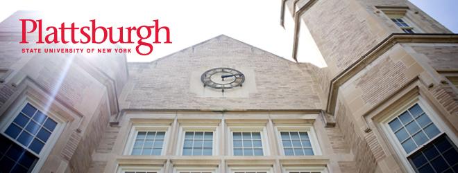SUNY Plattsburgh Banner